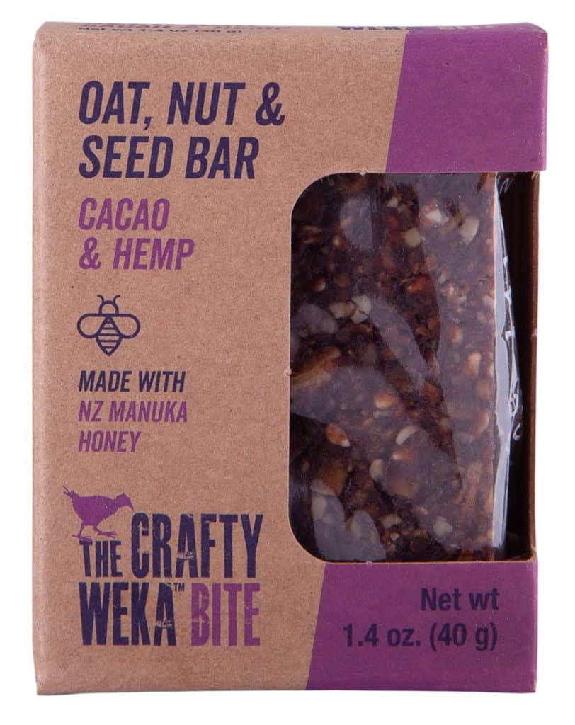 Crafty Weka Bar Caco & Hemp Bite Usa