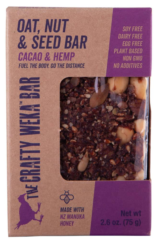 Crafty Weka Bar Caco & Hemp Front Usa