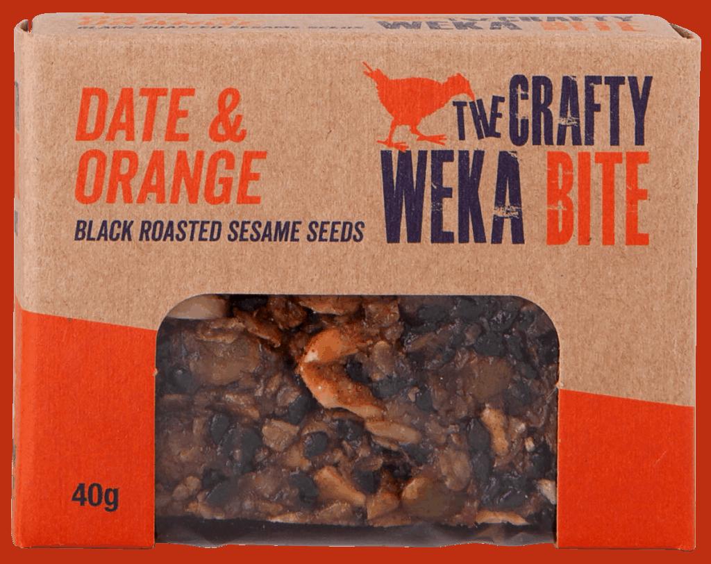 Crafty Weka Bar Date & Orange Bite